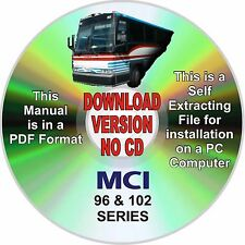 MCI BUS 102 A+B+C SERIES SERVICE MANUAL - DOWNLOAD