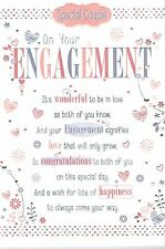 3-fold Pop-Up ENGAGEMENT CARD ~ From the Say it with words Collection