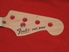 Fender 2011 USA Maple American Vintage 75 Jazz Bass Neck