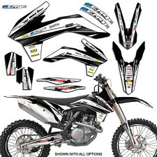 2006 2007 KTM XC 200 250 450 525 GRAPHICS KIT DECO DECALS MOTO STICKERS