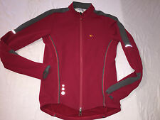 Small Pearl izumi Women Spandex Shell Windbreaker Jacket Cycling Race Jersey EUC