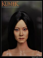 1/6 Kumik Accessory - Action Figure Female Head Sculpt KM15-10 For Hot Toys Body