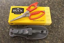 Buck 0030RDS Multi-Function SPLIZZORS Shears Pliers Scissors Combo Fishing Tool