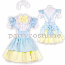 Lolita Cosplay Alice Maid Costume Adult size 8-10