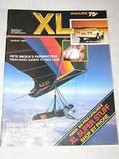 XL Magazine Mens Pete Brock Hang Gliders Cars PREMIER Issue 1983 Vintage #1 old