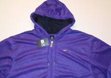 Jordan AF-1 retro 6 vi GRAPE PURPLE full zip hoodie hoody JACKET MENS XL $90