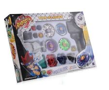 Beyblade Top set spinning Metal Fusion Fight Master 4D lanceur jouet cadeau uk vendre