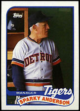 Sparky Anderson, Tigers #193 Topps 1989 Baseball Card (C248)