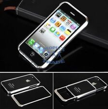 New Deluxe Silver Aluminum Alloy Metal Frame Bumper Case For iPhone 5S 5SE
