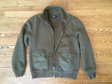 RRL By Ralph Lauren Fall/ Winter Bomber Jacket In Green. Size M