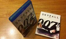 SKYFALL Blu-ray UK vrsn region b free abc (James Bond, rare slipcover slipcase)