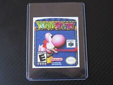 Yoshi Story N64 Cartridge Replacement Game Label Sticker Precut