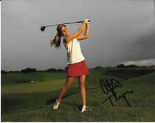 "LEXI THOMPSON SIGNED AUTOGRAPHED LPGA GOLF 8"" X 10"" PHOTO W/ COA ALEXIS"