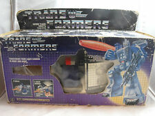 TRANSFORMERS GENERATION 1, G1 DECEPTICON FIGURE GALVATRON 100% COMPLETE BOXED