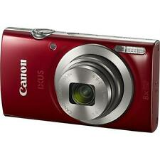 CANON IXUS 185 20.0 megapixels with 8x Optical Zoom with 16x ZoomPlus (RED)