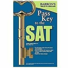 Pass Key To The SAT, 9th Edition, Sharon Weiner Green, Ira K. Wolf, New Book