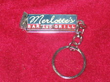 True Blood TV Series Merlotte's Bar and Grill Cloisonne Keychain, NEW UNUSED