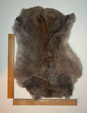 Genuine Real Natural Rabbit Pelt/Hide/Skin/Fur #1 - Crafts, Leathercraft, Kids