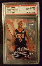 2004 Skybox #USAB Lebron James USA Basketball PSA 10 Gem Mint Nice Card!