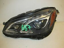 2014 2015 2016 MERCEDES E350 E400 E550 E63 AMG SEDAN HEADLIGHT LED LEFT OEM 687