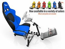 Openwheeler Racing Wheel Stand Cockpit Blue/Black | For Logitech G29 | G920 a...