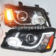 2001-2007 year for Toyota Highlander Kluger LED Strip Headlights Front Lamps YZ