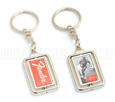 "910-0261-000 Fender Guitar  ""You Won't Part with Yours Either"" Surfer Key Chain"