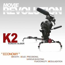 KONOVA KNK2100 Slider K2 100cm Horizontal Vertical Diagonal Moving Camera Rail