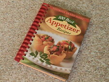 100 Best Appetizer Recipes Cooking Book