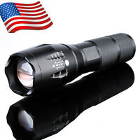 G700 Tactical 4000LM T6 X800 LED Flashlight Zoom Focus Torch Light Lamp Bright
