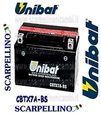 BATTERIA UNIBAT CBTX7A-BS PER KYMCO PEOPLE 200 cc DAL 2005 -BATTERY- YTX7A-BS