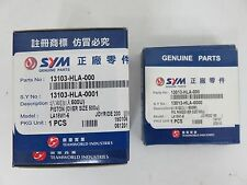 New Genuine Sym Joyride-200 0.50 over size piston and rings 13103-HLA-000