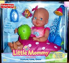 NEW FISHER-PRICE LITTLE MOMMY BATH BABY DOLL/NEW/NRFB/2+/G8690