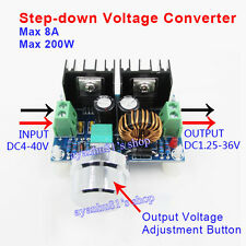 8A 100W DC-DC XL4016E1 Voltage Step Down Module 4-40V to 1.25-36V PWM Regulator