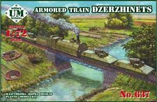 RUSSIAN ARMORED TRAIN 'DZERZHINETS' WWII 1/72 UNIMODEL UMT 637