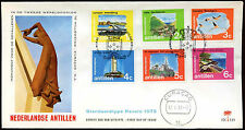 Netherlands Antilles 1972 Views Of The Islands FDC First Day Cover #C26630