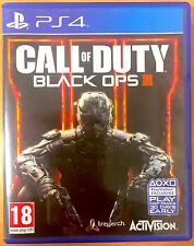 Call of duty black ops iii-Playstation PS4 games-très bon état-cod