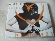 JANET JACKSON - RUNAWAY - UK CD SINGLE