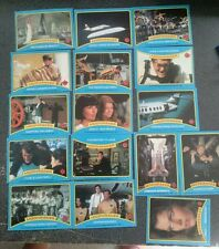 Original 1979 James Bond Moonraker Lot of 16 Trading Cards
