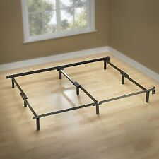 Sleep Revolution King Size Compact Smart Metal Bed Frame - 9 Leg Design
