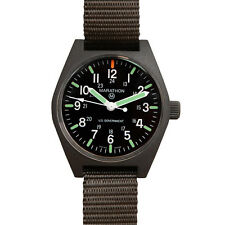 US MILITARY ISSUE FIELD WATCH MARATHON QUARTZ MARAGLO NEW w/ Box + 1 Yr Warranty