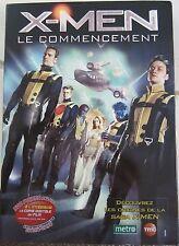 """DVD X-MEN """"LE COMMENCEMENT"""", ETAT NEUF"""