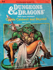 Castillo de Caldwell y más allá de B9 básico D&D RPG Dungeon & Dragons Aventura Módulo