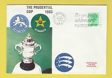 Cricket-TIMBRO COVER-PRUDENTIAL Cup-Inghilterra V Pakistan - 1983
