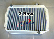 3 CORE ALUMINUM RADIATOR FOR Holden Kingswood Chev HQ HJ HX HZ V8 Manual
