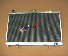 For 52mm 3ROW aluminum alloy radiator Nissan silvia S13 SR20DET 89-94 90 91 92