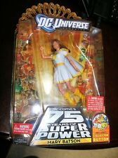 DC UNIVERSE~MARY BATSON~2009 NEW ACTION FIGURE~DC COMICS 75 YRS OF SUPER POWER