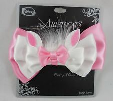 New Disney The Aristocats Marie Cosplay Hair Bow Pin Clip Costume Dress-Up