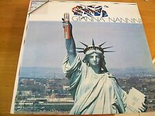 GIANNA NANNINI CALIFORNIA  LP MINT-  ORIZZONTE