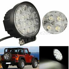 """4.5"""" 42W Round LED Work Light Bar Spot Lamp For Offroad SUV Truck 4WD ATV SUV"""